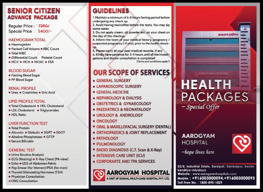 HEALTH PACKAGE-PAGE 1