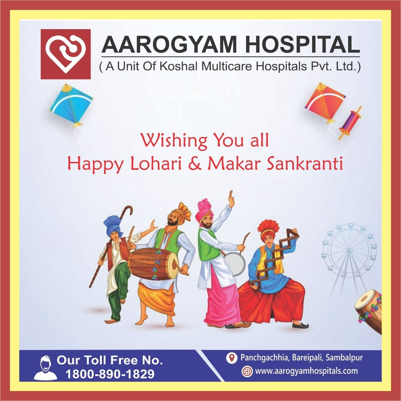 HAPPY LOHRI AND MAKAR SANKRANTI TO ALL OF YOU